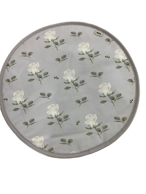 Genuine Rose & Bee AGA Lid Covers / AGA Chefs Pads.