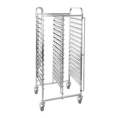 Catering Trolley Professional 30 Gn Container Transport Wagon Stainless Steel