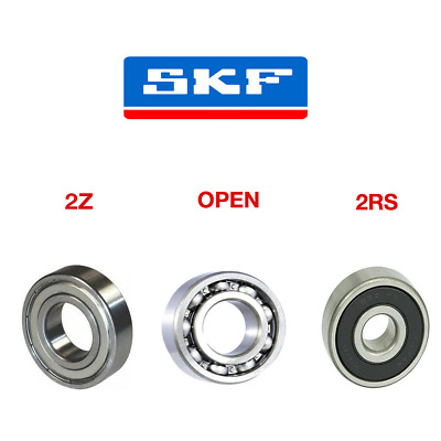 Skf Bearing 6000 - 6312 Series - Open - 2Rsh - 2Z - C3 - Choose Your Size