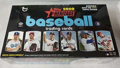 2020 Topps Heritage MLB Baseball Sealed Hobby Box - IN Stock NOW