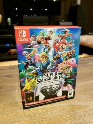 Super smash Bros Ultimate Special Collector's Edition For Nintendo Switch SEALED