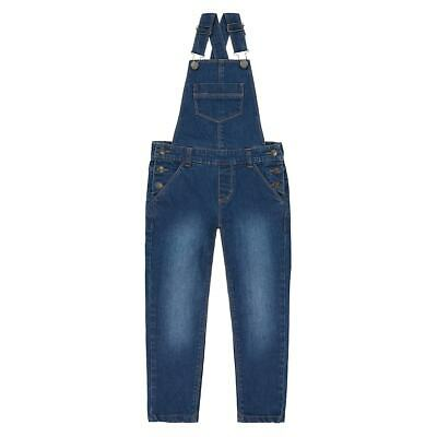 La Redoute Collection Girls Denim Dungarees 3-12 Years 350132788
