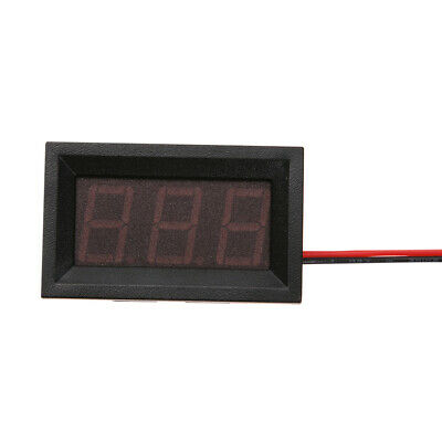 0.56inch LED Display DC 4.5-30V Two-wire Digital Voltmeter(Red) H1