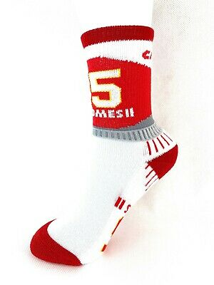 Kansas City Chiefs Patrick Mahomes Selfie Socks by For Bare Feet Medium /& Large Available