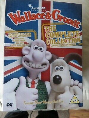 Wallace & Gromit The Complete Collection DVD 2009 With Slipcover~SHRINK WRAPPED