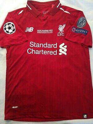 Liverpool Salah shirt 2019 final jersey champions league camiseta maillot