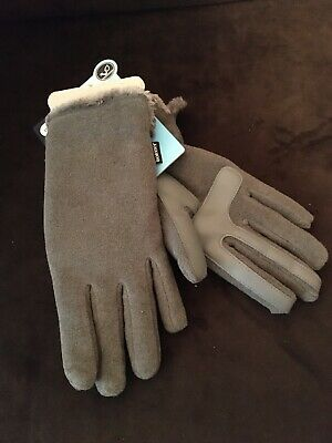 Ships Free. Isotoner SmartDri SmarTouch Women's Gloves Gray One Size Fits Most