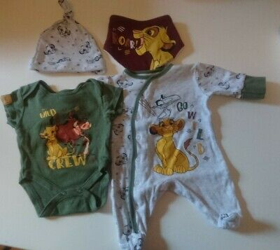 PRIMARK DISNEY BABY LION KING ROMPER SUIT ALL SIZES AVAILABLE