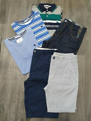 BOYS CLOTHING BUNDLE AGE 13-14 Years NEXT,CONRAN,SHORTS,NEW,TOPS,POLO,JEANS,SET