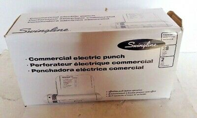 Swingline Commercial Electric Punch 2 Hole
