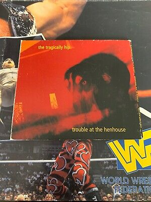 The Tragically Hip Trouble At The Henhouse CD Canada Label - Ships Fast
