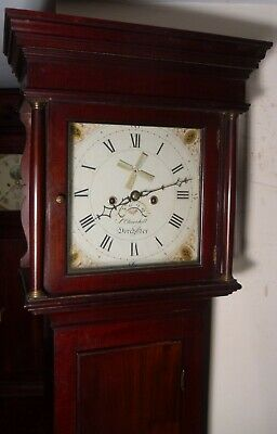 "Antique  Mahogany "" Dorchester ""   Automation  Longcase / Grandfather Clock"