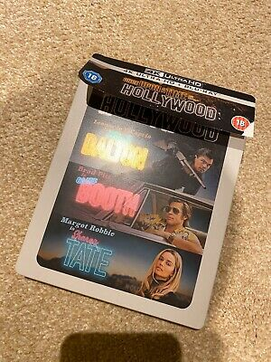 once upon a time in hollywood 4k steelbook
