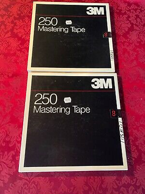 2, 3M 10.5 Reel to Reel Tapes