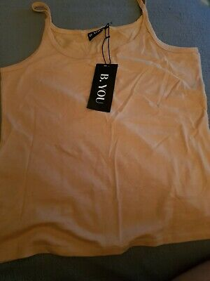 Ladies brand new with tags on Vest Top Size Large