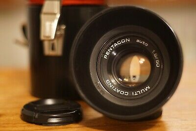 Pentacon 50mm F1.8 Anamorphic Bokeh Lens M42 for Canon or Mirrorless