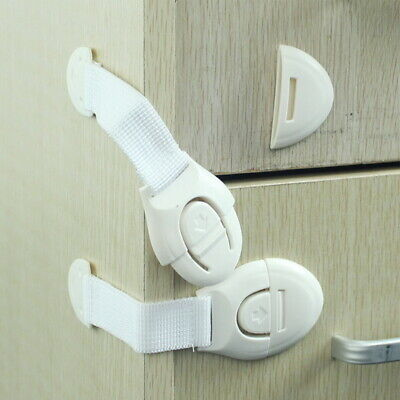 Baby Child Box Drawer Cupboard Safety Safe Fridge Door Wardrobe Cabinet 8SJ Lock