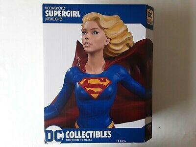 Dc Collectibles Dc Comics Cover Girls Joelle Jones Supergirl Sexy Statue Figure