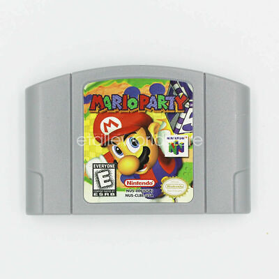 Nintendo N64 Game Mario Party 1 Video Game Cartridge Console Card US/CAN Version