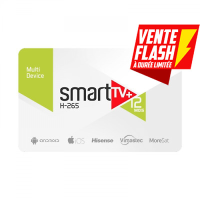 Smart Plus Code D'activation pour (Smart Tv, Android, Xtream Code, M3u)