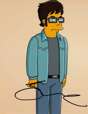 Jemaine Clement SIMPSONS signed 10x8 photo AFTAL & UACC [16885] Signing Details