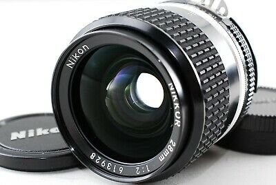 Excellent++++ Nikon Ai-s Nikkor 28mm F2 MF Lens from Japan 1083