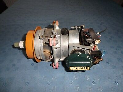 vintage kenwood chef a701a motor, switch in dark blue
