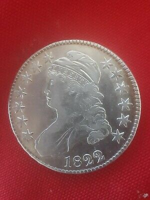 1822 1822/1  Capped Bust Half Dollar Almost Uncirculated