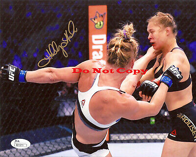 UFC HOLLY HOLM Autographed Signed 8x10 Photograph