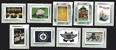 2011 Canada SC# PPI-PP9 Picture Postage - 1 set of 9 stamps M-NH