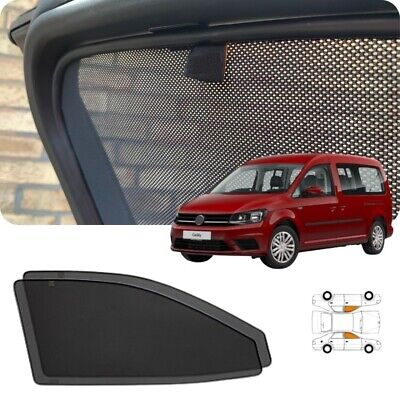 MK3 VW CADDY Tailor Made MAGNETIC Front Window Shades Sun Blinds