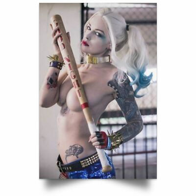 Harley Quinn Suicide Squad Poster New Sexy Girl Art Silk Poster Wal Art