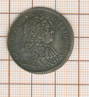 Ardennes,Bouillon,Godefroy Maurice,Rare and Pretty Token Silver 1683