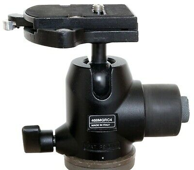 Manfrotto 468MGRC4 magnesium hydrostatic ball head