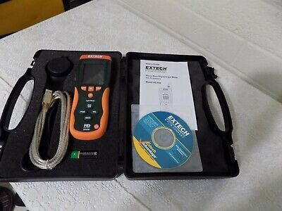 NEW Extech Heavy Duty Digital Light Meter HD400 - Complete, FREE SHIPPING