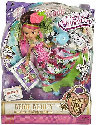 Ever After High Way Too Wonderland - Briar Beauty Doll by Mattel
