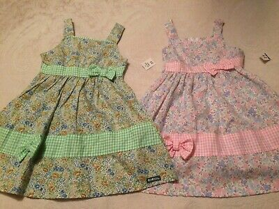Girls Age 2 Sundresses X 2 Brand New With Tags