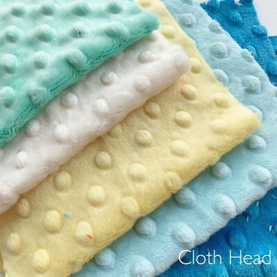 Yellow Red 33cm squares BUNDLE of 6 Dimple PLUSH SHANNON cuddlesoft Pink Teal