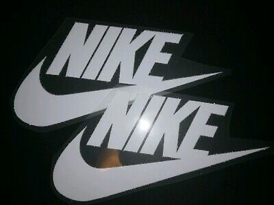 NIKE IRON ON LOGO X 5 NECK  LABEL  4.75cm HEM LABEL
