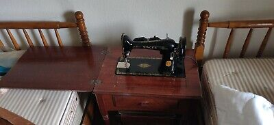 1947 Singer  Sewing Machine.Very Good working Condition Rare, extra sewing heads