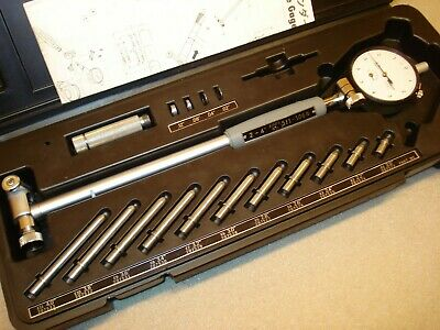 "2""- 6"" Mitutoyo Bore Gage Set .0001"" Precision Inspection Machinist Tool"