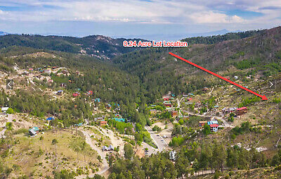 0.24 Acres on Mt Lemmon-Walk to Ski Lift in Winter Retreat from Heat in Summer!