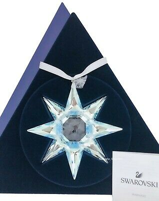 New Swarovski Snowflake Crystal Annual Edition Ornament 2020 Display 5504083