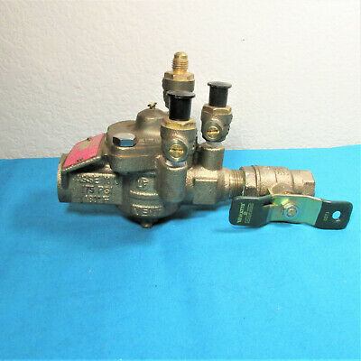 Reduced Pressure Zone Assembly, Bronze Body,Watts' Includes Block Valve.