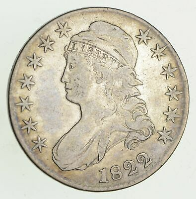1822 Capped Bust Half Dollar - Circulated *9444