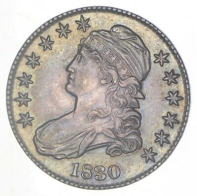 1830 Capped Bust Half Dollar - Toned *6283