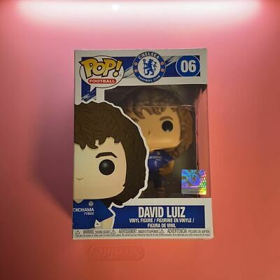 Chelsea Vinyl Figure #6 Premier League Football-DAVID LUIZ FUNKO POP
