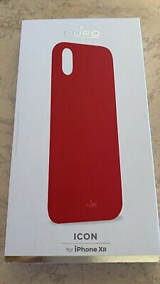 PURO Custodia Originale ICON Cover per Apple iPhone XR Silicone