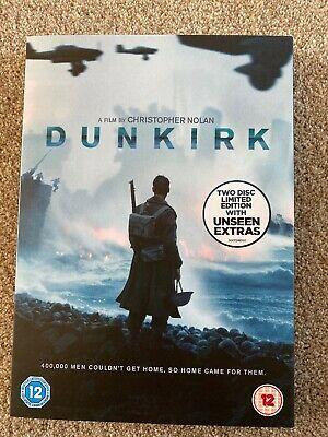 Dunkirk (Two Disc DVD)  Limited Edition With Unseen Extras