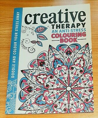 Creative Therapy And Anti -Stress Colouring Book Adult Colouring Book